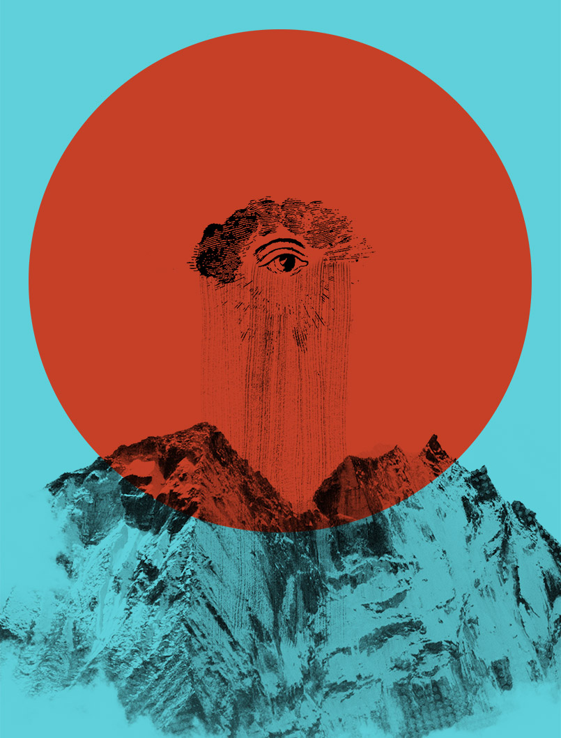 Nepal Mountains Poster