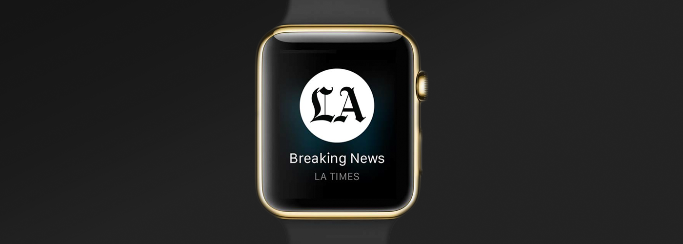 LA Times Apple Watch